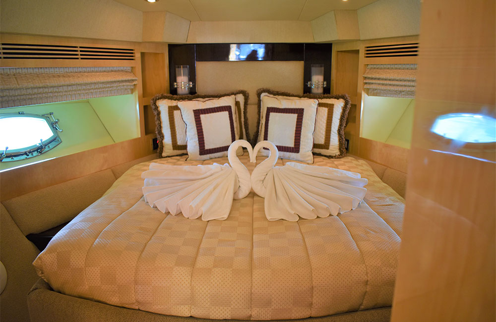 Luxurious suites with all modern amenities for relaxation