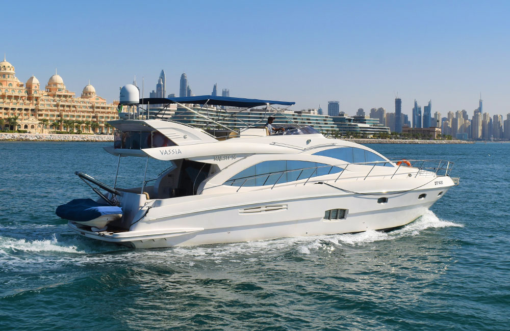 Majesty yacht with superb capacity for parties