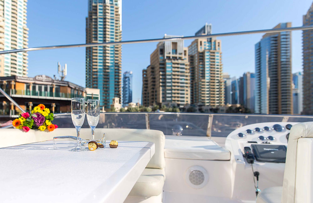 ultra-luxe yacht deck for yachting journeys