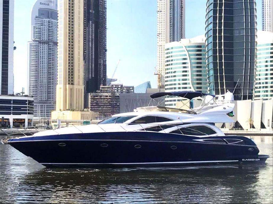 64 Ft Luxury Rental Yacht Dubai Marina