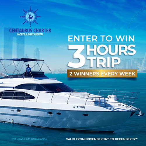 Centaurus Charter Luxury Yacht Competition